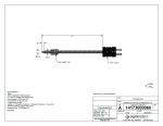 Type J Ungroundedadjustable Bayonet Style Thermocouple